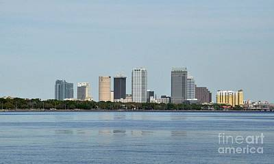 Photograph - Tampa Florida Skyline by John Black