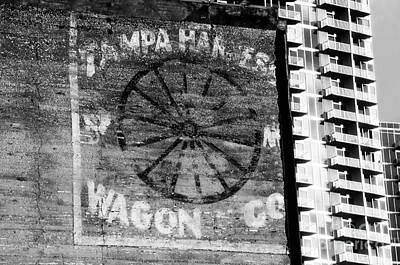 Tampa Harness Wagon N Company Art Print