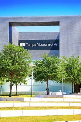 Photograph - Tampa Museum Of Art by Chris Smith