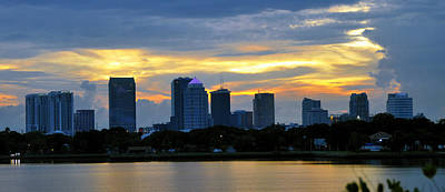 Photograph - Tampa Pano Work 7 by David Lee Thompson