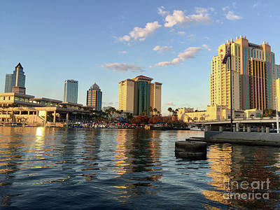 Photograph - Tampa River Walk by Andrew Dinh