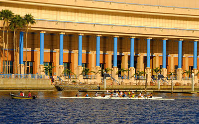 Photograph - Tampa Rowing by David Lee Thompson