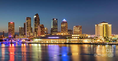 Photograph - Tampa Skyline by Brian Jannsen