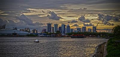 Tampa Skyline Art Print by Chauncy Holmes