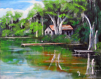 Painting - Tampa Spring by Luis F Rodriguez