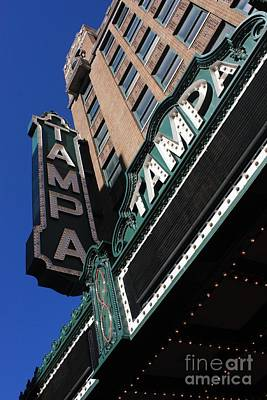 Photograph - Tampa Theatre  by Carol Groenen