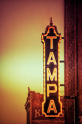 Photograph - Tampa Theatre by Carolyn Marshall