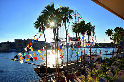 Photograph - Tampa's Day Gasparilla by David Lee Thompson