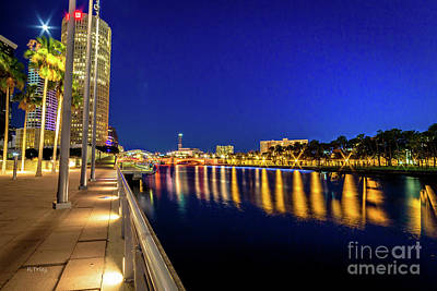 Photograph - Tampa's Wonderful Riverwalk by Rene Triay Photography