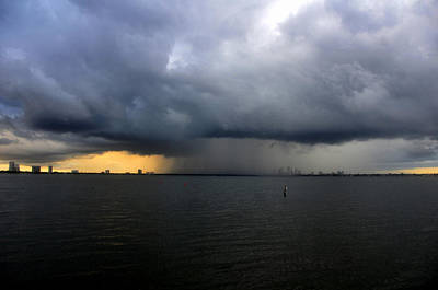 Photograph - Tampa Storm by David Lee Thompson