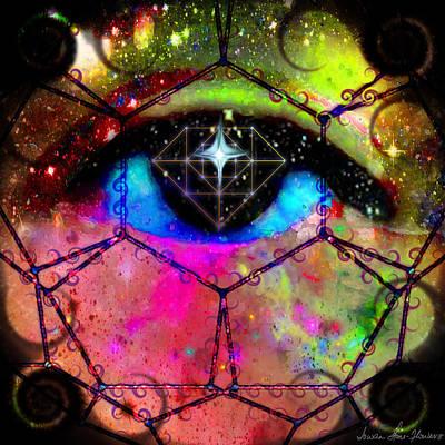 Digital Art - Tam's Prism by Iowan Stone-Flowers