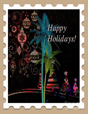 Digital Art - Tan Stamp by Megan Dirsa-DuBois