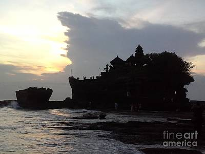 Photograph - Tanah Lot Temple Bali Indonesia by Heather Kirk