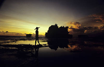 Asian Cultural Art Photograph - Tanah Lot Temple by William Waterfall - Printscapes