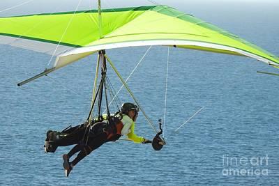 Sports Photograph - Tandem Hang Gliding by Scott Cameron