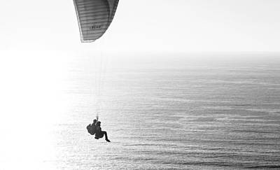 Photograph - Tandem Paragliders by Susan  McMenamin