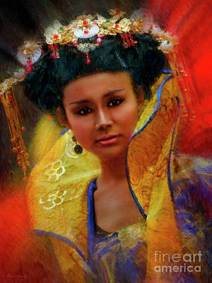 Photograph - Tang Dynasty Princess by Blake Richards