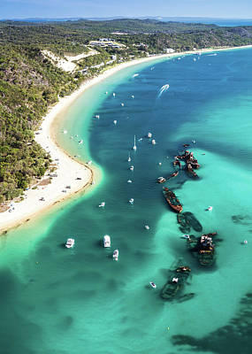 Photograph - Tangalooma Wrecks by Silken Photography