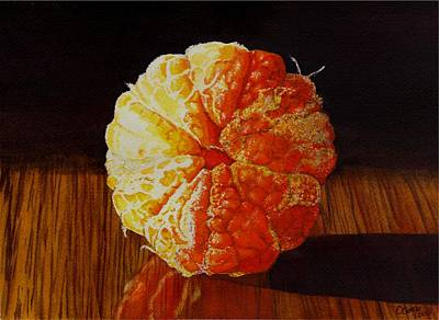 Tangerines Painting - Tangerine by Catherine G McElroy