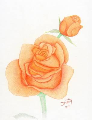 Tangerine Gold Art Print