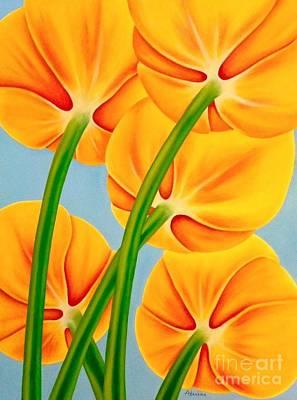 Painting - Tangerine by Natalia Astankina