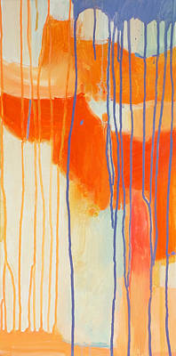 Intuitive Painting - Tangerine by Stacy Vosberg