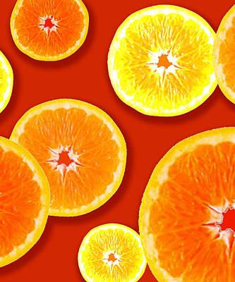 Tangerine Tango Art Print