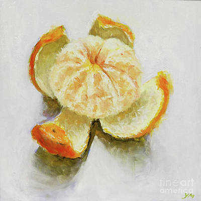 Painting - Tangerine by Yoshiko Mishina