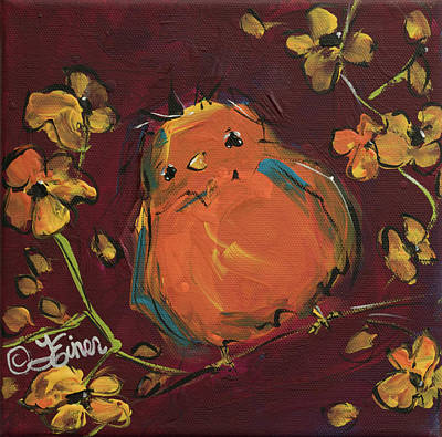 Painting - Tangerined by Terri Einer
