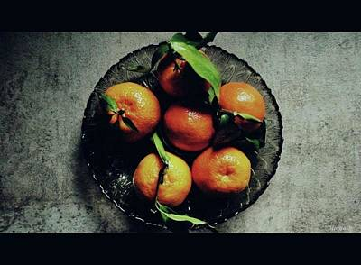 Photograph - Tangerines by Marija Djedovic