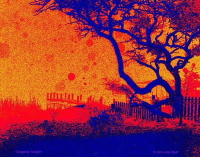 Digital Art - Tangerine Twilight by Larry Beat