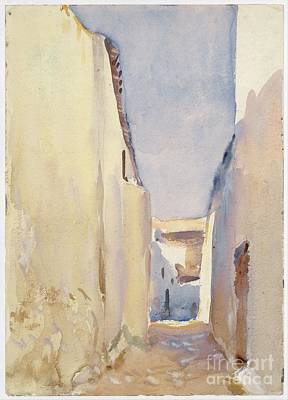 Tangier Painting - Tangier by Celestial Images