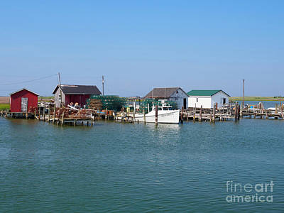 Photograph - Tangier Island Chesapeake Bay Virginia by Louise Heusinkveld