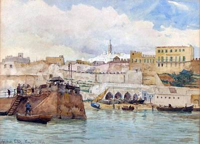 Tangier Painting - Tangiers by MotionAge Designs