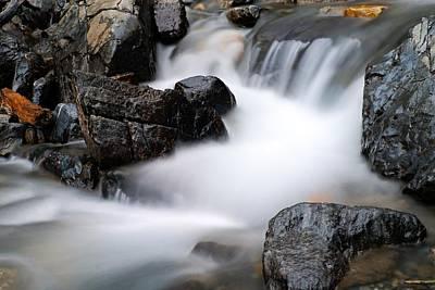 Photograph - Tangle Falls Closeup 7 by Larry Ricker
