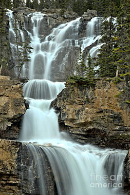 Photograph - Tangle Falls Spring Portrait by Adam Jewell