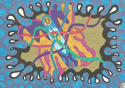 Tangled Butterfly Art Print
