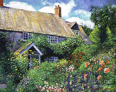 Tangled English Garden Art Print by David Lloyd Glover