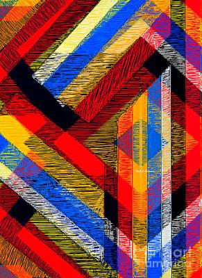Digital Art - Tangled Maze by Rafael Salazar