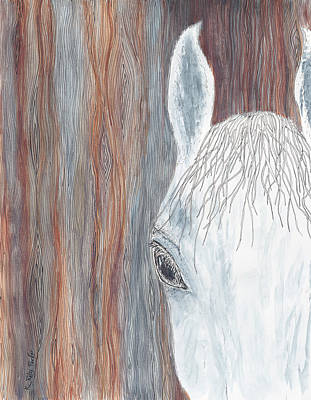 Forelock Painting - Tanglewood by Kathryn Riley Parker