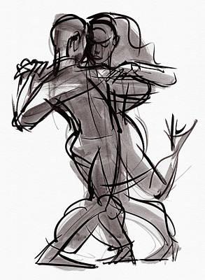 Painting - Tango #12 by Judith Kunzle