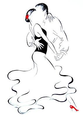 Tango 14 Original by Lena  Leitzke