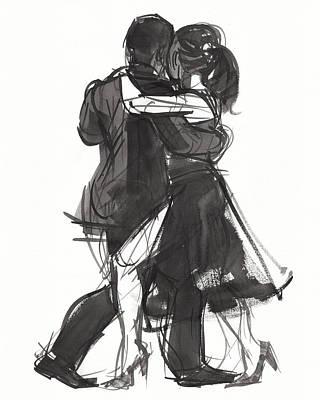 Painting - Tango 2 by Judith Kunzle