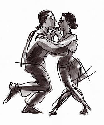 Painting - Tango #22 by Judith Kunzle