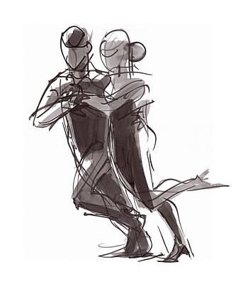 Painting - Tango #24 by Judith Kunzle