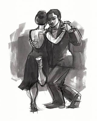 Painting - Tango 6 by Judith Kunzle