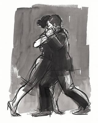 Painting - Tango 7 by Judith Kunzle
