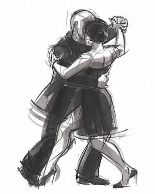 Painting - Tango 8 by Judith Kunzle