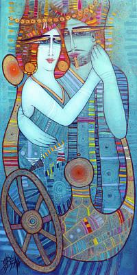 Painting - Tango by Albena Vatcheva