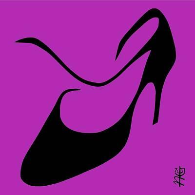 Tango Argentino Woman Shoe - Milonga Buenos Aires Argentina Print by Arte Venezia
